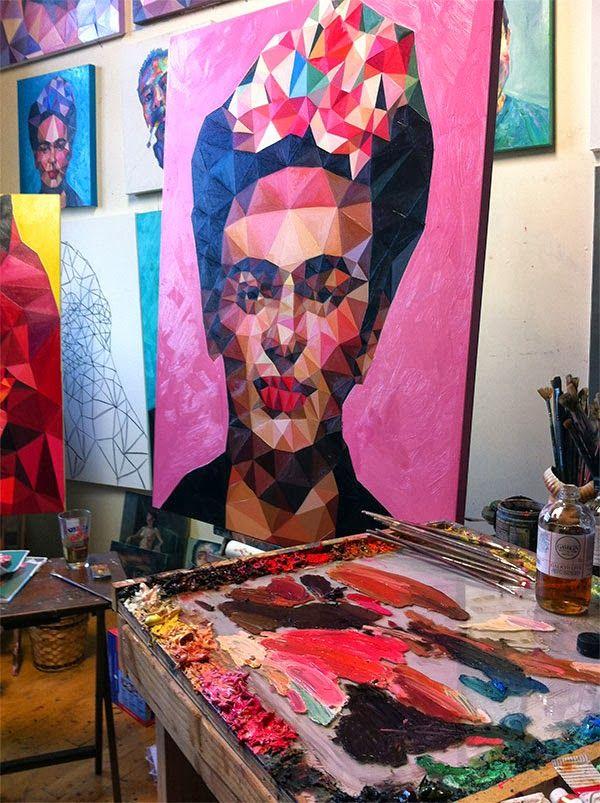 Angie Jones, de los píxeles al pincel
