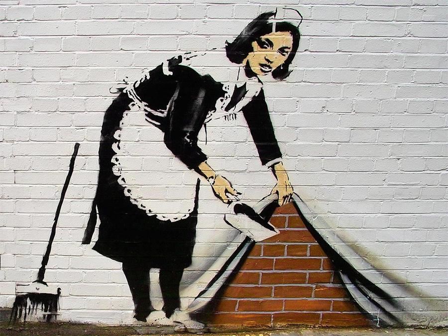 Banksy, el arte del negocio