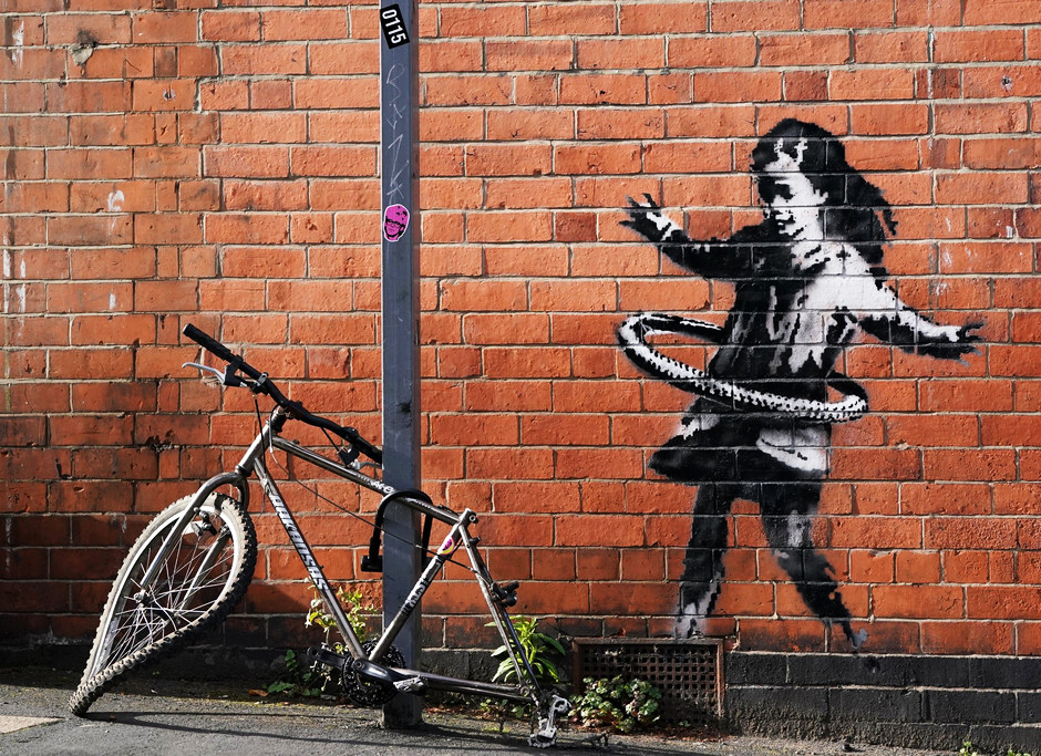 Banksy ha contribuido en gran medida