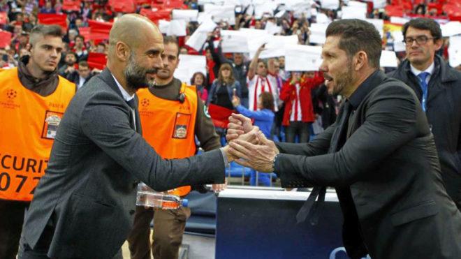 Diego Cholo Simeone es, junto a Pep Guardiola