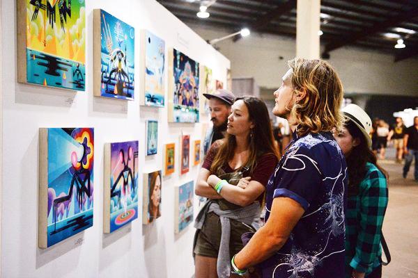 ferias de arte contemporáneo más grandes del sur de California
