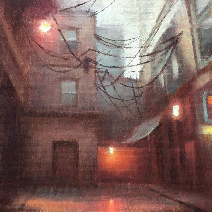 Nicolas-Martin-Pintura al óleo