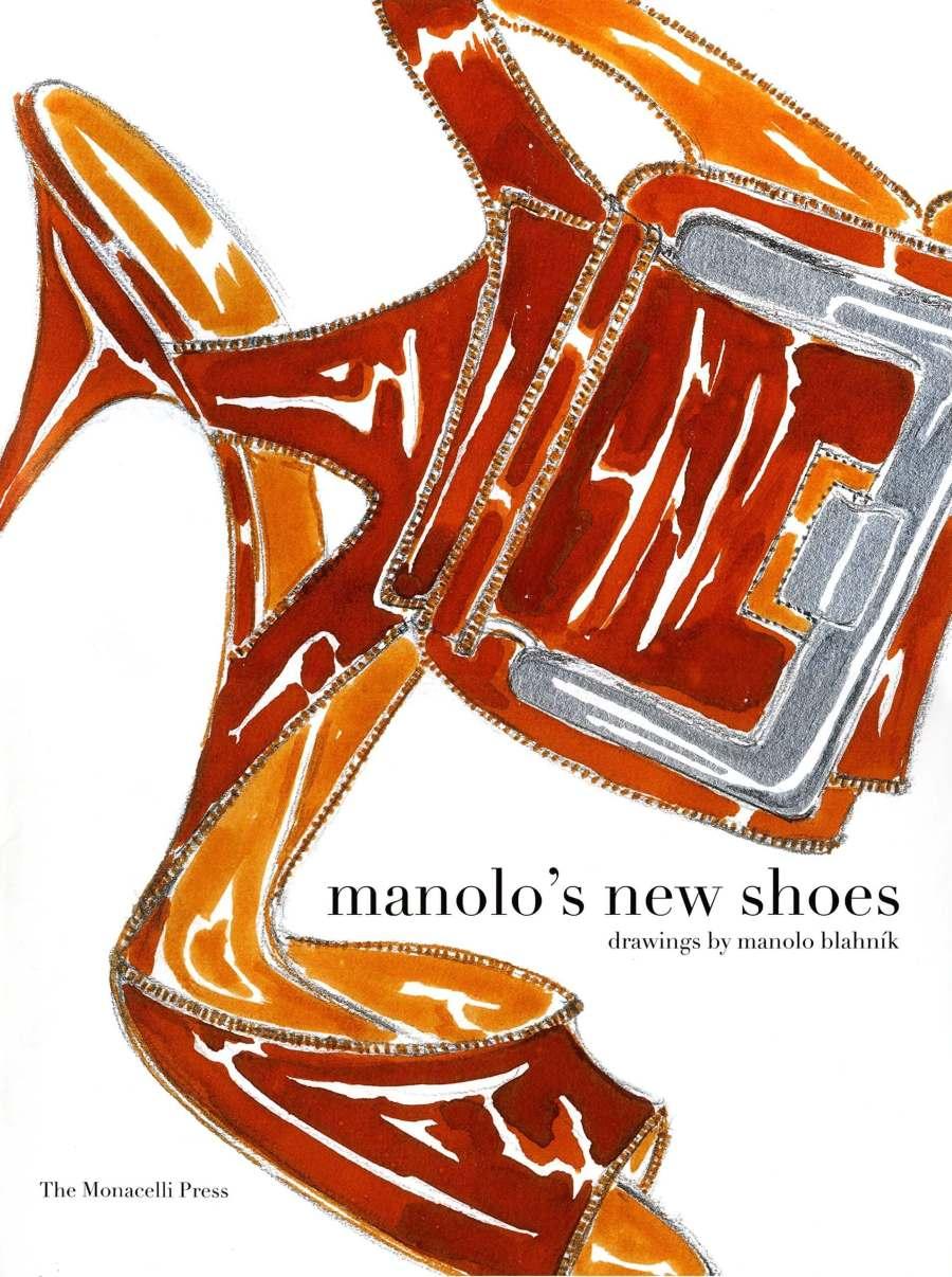 Portada del libro de arte de Manolo Blahnik