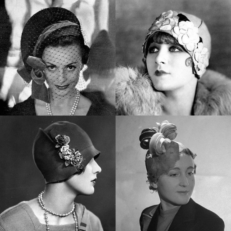 Sombreros Vintage Caroline Reboux