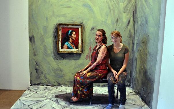 Alexa Meade y su serie Living Paintings, mucho más que body painting