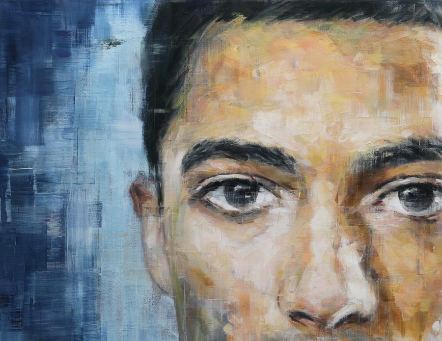 Harding Meyer, 20 años retratando al óleo