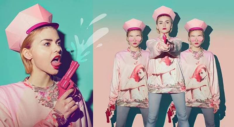 Marla Singer un homenaje al rosa melocotón y a Fight Club 2